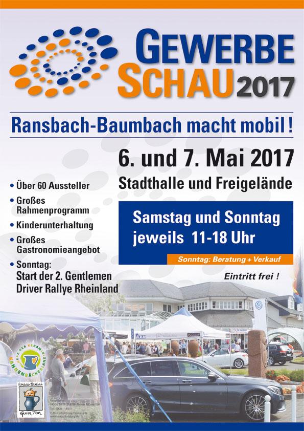 Gewerbeschau 06.-07. Mai 2017 in Ransbach-Baumbach