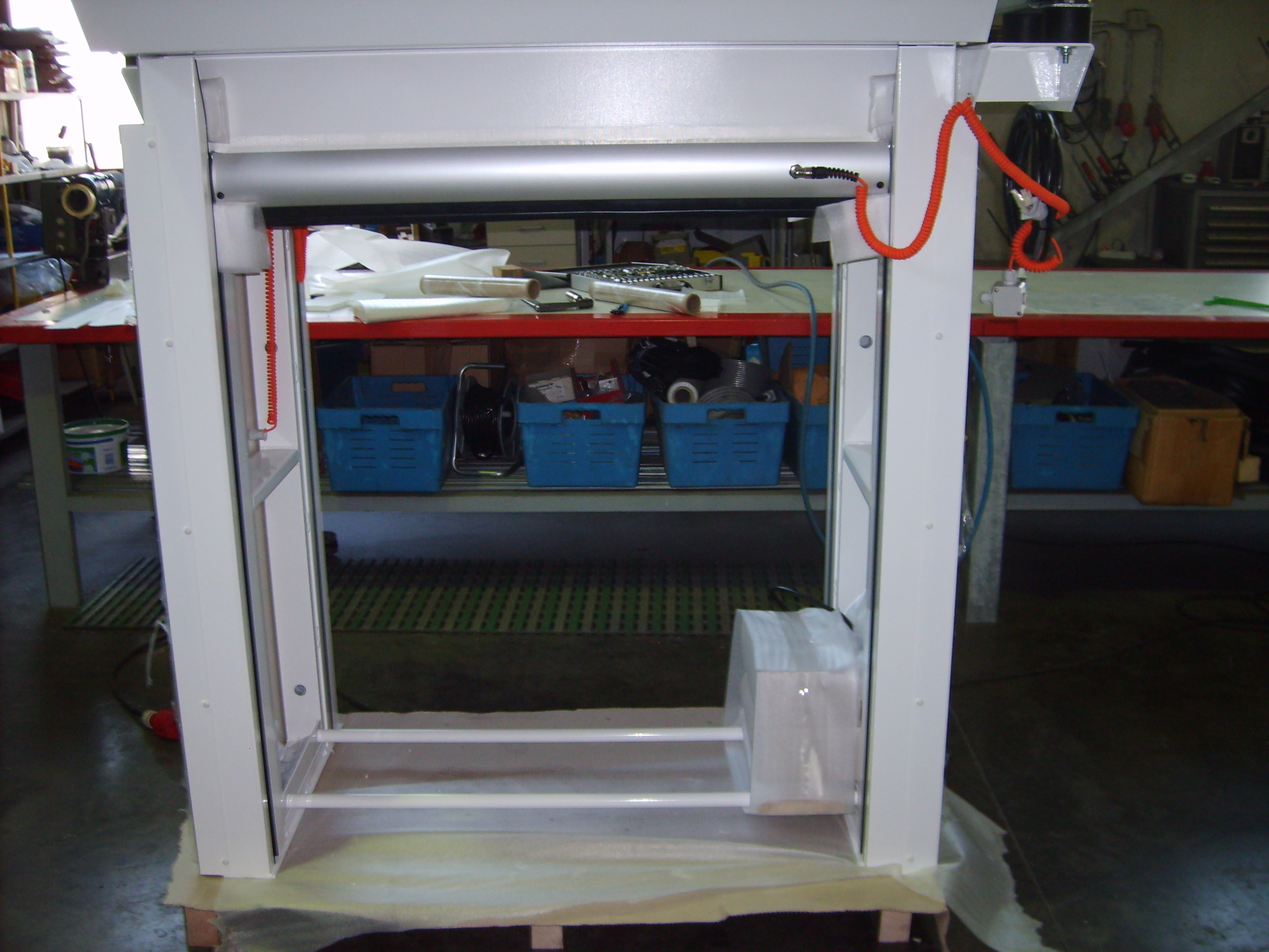 ISO-Therm Schnelllauf-Rolltor von GERZ GmbH