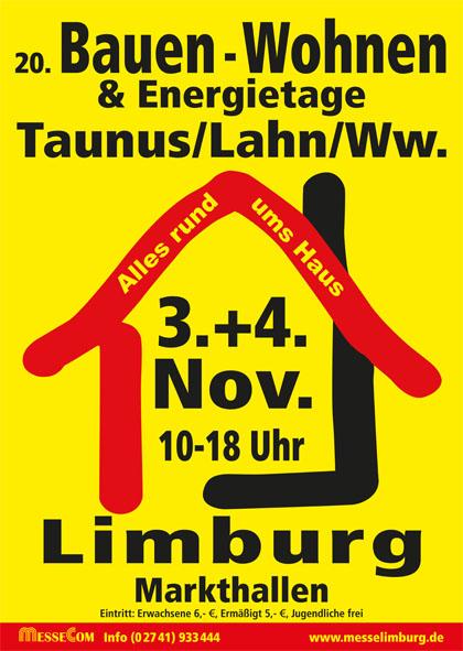 Bauen-Wohnen & Energietage Limburg 3./4. 11.2018 - GERZ-Rollfenster