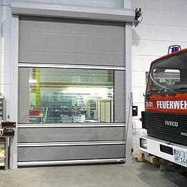 GERZ Gmbh - Schnelllauf-Rolltor G 35i für den Innenbereich