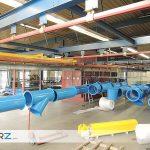 GERZ GmbH - Kunststoffbeschichtung / Pulverbeschichtung bis 9.000 mm Länge