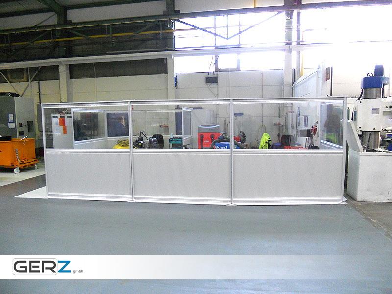 GERZ Industrie-Trennwände - GERZ GmbH