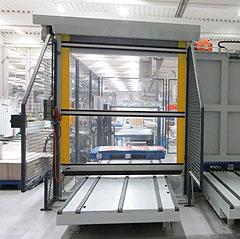 Sondertor Fördertechnik Schnelllauf-Rolltor GERZ GmbH