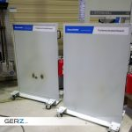 GERZ Gmbh - Schweissschutz und Schleifschutz / Funkenschutz-Trennwand