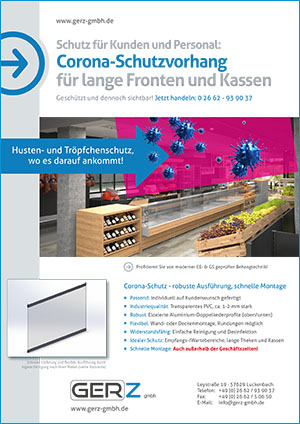 GERZ GmbH Corona Schutzvorhang
