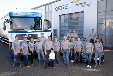 Mitarbeiter GERZ GmbH