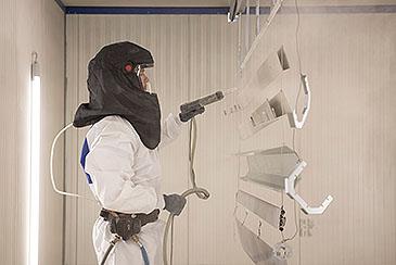 Gerz GmbH - Trennwände, Tore, Rollfenster, Pulverbeschichtung, Kunststoffbeschichtung